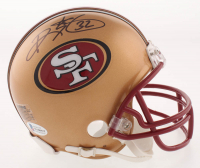 Ricky Watters Signed San Francisco 49ers Mini-Helmet (Beckett COA) at PristineAuction.com