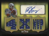 2010 Topps Triple Threads Autographed Relics Gold #TTRA3 Peyton Manning #1/9 at PristineAuction.com