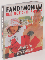 "Red Hot Chili Peppers ""Fandemonium"" Paperback Book Band-Signed by (4) with Anthony Kiedis, Flea, Chad Smith & Josh Klinghoffer (Beckett LOA) at PristineAuction.com"