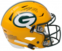 Davante Adams Signed Green Bay Packers Full-Size Authentic On-Field SpeedFlex Helmet (JSA COA) at PristineAuction.com