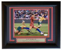 Alex Morgan Signed Team USA 11x14 Custom Framed Photo Display (JSA COA) at PristineAuction.com