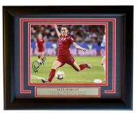 Alex Morgan Signed Team USA 11x14 Custom Framed Photo Display (JSA COA) at PristineAuction.com