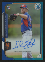 2015 Bowman Chrome Rookie Autographs Blue Refractors #BCARNS Noah Syndergaard at PristineAuction.com