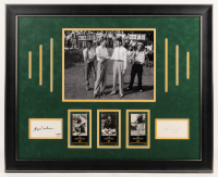 """Byron Nelson & Henry Picard Signed 26x31.5 Custom Framed Cut Display Inscribed """"1991"""" (PSA COA) at PristineAuction.com"""