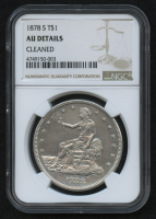1878-S $1 Trade Silver Dollar (NGC AU Details) at PristineAuction.com