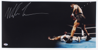 Mike Tyson Signed 12x24 Photo (PSA COA) at PristineAuction.com