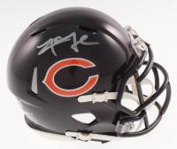 Khalil Mack Signed Chicago Bears Speed Mini Helmet (Beckett COA) at PristineAuction.com