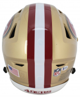"Jerry Rice Signed San Francisco 49ers Full-Size Authentic On-Field Speed Flex Helmet Inscribed ""HOF 2010,"" ""3x SB Champ"" & ""GOAT"" (Beckett COA) at PristineAuction.com"