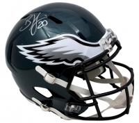 Brian Dawkins Signed Philadelphia Eagles Full-Size Speed Helmet (JSA COA) at PristineAuction.com