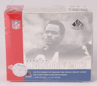 2002 SP Legendary Cuts Football Unopened Hobby Box with (12) Packs at PristineAuction.com