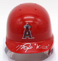 "Mike Trout Signed Los Angeles Angels LE Mini-Helmet Inscribed ""Kiiiiid"" (MLB Hologram) at PristineAuction.com"