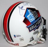 Walter Payton Signed Pro Football Hall of Fame Mini-Helmet (Beckett LOA & Steiner COA) at PristineAuction.com