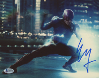 "Ezra Miller Signed ""Justice League"" 8x10 Photo (Beckett COA) at PristineAuction.com"