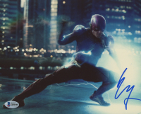 """Ezra Miller Signed """"Justice League"""" 8x10 Photo (Beckett COA) at PristineAuction.com"""