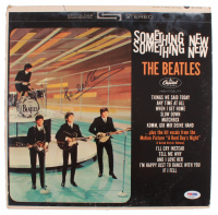 "Paul McCartney Signed The Beatles ""Something New"" Vinyl Record Album (Beckett LOA) at PristineAuction.com"
