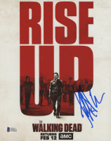 "Jeffrey Dean Morgan Signed ""The Walking Dead"" 8x10 Photo (Beckett COA) at PristineAuction.com"