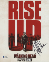 """Jeffrey Dean Morgan Signed """"The Walking Dead"""" 8x10 Photo (Beckett Hologram) at PristineAuction.com"""