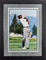 Michael Jordan Signed LE 21.5x27.5 Custo Framed Photo Display (USA Hologram) at PristineAuction.com