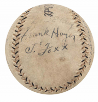 1934 Tour of Japan Vintage Baseball Signed by (12) with Babe Ruth, Lefty Gomez, Jimmie Foxx (Beckett LOA) at PristineAuction.com
