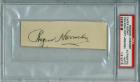 Rogers Hornsby Signed 1.5x4.5 Cut (PSA Encapsulated) at PristineAuction.com