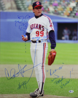 "Charlie Sheen Signed ""Major League"" 16x20 Photo with (3) Inscriptions (Beckett COA) at PristineAuction.com"