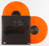 "Post Malone Signed ""Stoney "" Vinyl Record Album (PSA Hologram) at PristineAuction.com"