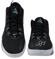 Giannis Antetokounmpo Signed Pair of (2) Nike Zoom Freak 1 Basketball Shoes (JSA COA) at PristineAuction.com