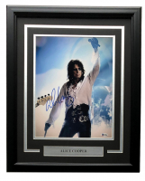Alice Cooper Signed 16x20 Custom Framed Photo Display (Beckett COA) at PristineAuction.com