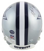 "Troy Aikman, Emmitt Smith & Michael Irvin Signed Dallas Cowboys Full-Size Helmet Inscribed ""HOF 2007,"" ""HOF '06"" & ""HOF 2010"" (Beckett COA & Prova Hologram) at PristineAuction.com"