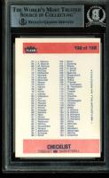 "David Stern Signed 1986-87 Fleer #132 Checklist Inscribed ""HOF '14"" (BGS Encapsulated) at PristineAuction.com"