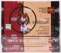 Lot of (3) 1998 Upper Deck Hardcourt Premier Edition Basketball Card Boxes at PristineAuction.com