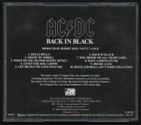 "AC/DC ""Back in Black"" CD Album Case Band-Signed by (4) with Angus Young, Cliff Williams, Malcolm Young & Brian Johnson (Beckett LOA) at PristineAuction.com"