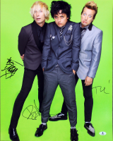 Billie Joe Armstrong, Tre Cool & Mike Dirnt Signed 16x20 Photo (Beckett LOA) at PristineAuction.com