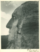 "Gutzon Borglum Signed 8x10.5 Photo Inscribed ""Official"" (PSA LOA) at PristineAuction.com"