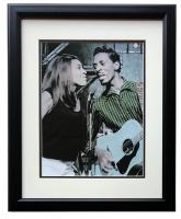 Ike & Tina Turner 17x21 Custom Framed Photo Display at PristineAuction.com