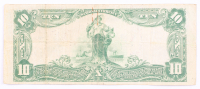 1902 $10 Ten Dollars U.S. National Currency Large Bank Note - The Columbia National Bank of Washington, D.C. at PristineAuction.com