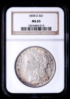 1898-O Morgan Silver Dollar (NGC MS65) at PristineAuction.com