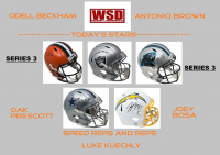 "WSD ""Today's Stars"" Mystery Helmet Box - Autographed Football Helmet Series 3 at PristineAuction.com"
