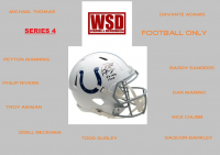 """WSD """"Football Only"""" Mystery Helmet Box - Autographed Football Helmet Series 4 at PristineAuction.com"""
