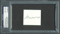 Muhammad Ali Signed 2x2 Cut (PSA Encapsulated) at PristineAuction.com