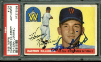 Harmon Killebrew Signed 1955 Topps #124 RC (PSA Encapsulated) at PristineAuction.com