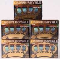 Lot of (5) 1998 Pacific Crown Royale Baseball Card Boxes at PristineAuction.com