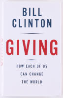 "Bill Clinton Signed ""Giving"" Hardcover Book (JSA COA) at PristineAuction.com"