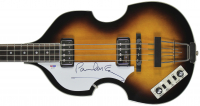 Paul McCartney Signed Lefty Hofner Violin Bass Guitar (PSA LOA) at PristineAuction.com