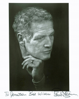 "Paul Newman Signed 8x10 Photo Inscribed ""Best Wishes"" (Beckett LOA) at PristineAuction.com"