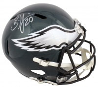Brian Dawkins Signed Eagles Full-Size Speed Helmet (JSA COA) at PristineAuction.com