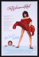 """Kelly LeBrock Signed """"The Woman In Red"""" 12x18 Poster (JSA COA) at PristineAuction.com"""