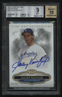 2013 Topps Tier One Autographs #SK Sandy Koufax #12/50 (BGS 9) at PristineAuction.com