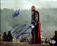 "Stan Lee & Chris Hemsworth Signed ""Thor"" 8x10 Photo (Beckett COA) at PristineAuction.com"