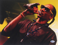 Snoop Dogg Signed 11x14 Photo (Beckett COA) at PristineAuction.com